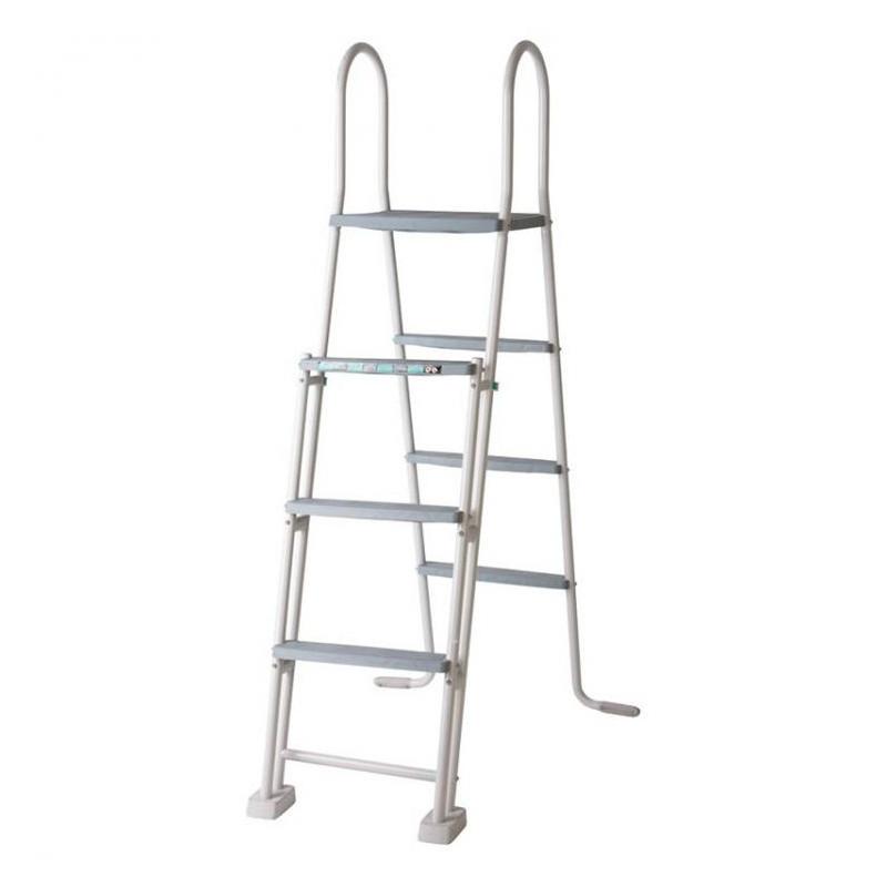 Escalera de seguridad con plataforma 120-132 cm Gre ES1213