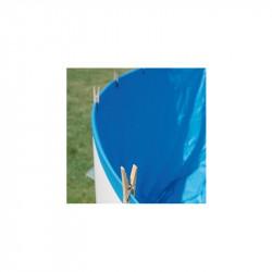 Liner Azul piscina Gre redonda 20/100 - Altura 65 - Sistema