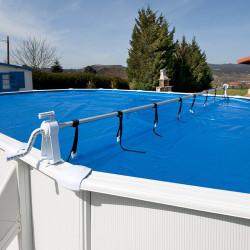 Enrollador de manta piscina desmontable Gre 40135