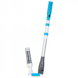 Limpiafondos de batería para piscinas y spas Gre Pole Vac AB