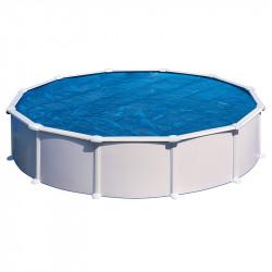 Cubierta isotérmica para piscina Gre redonda