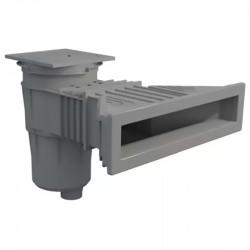 Skimmer Norm 17,5 L. tapa cuadrada para piscina de hormigón