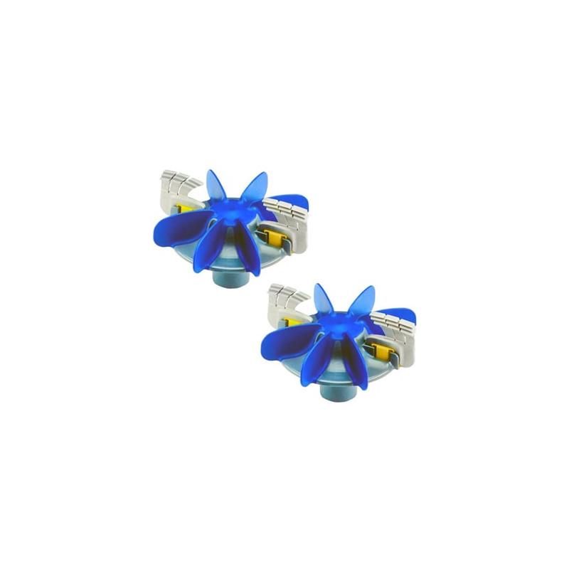 Kit Hélices + Cepillos Zodiac MX8 MX9 (2 Un) R0756300