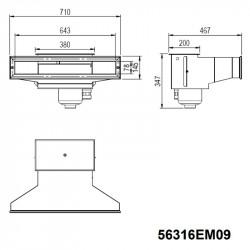 Skimmer acero inoxidable AISI 316