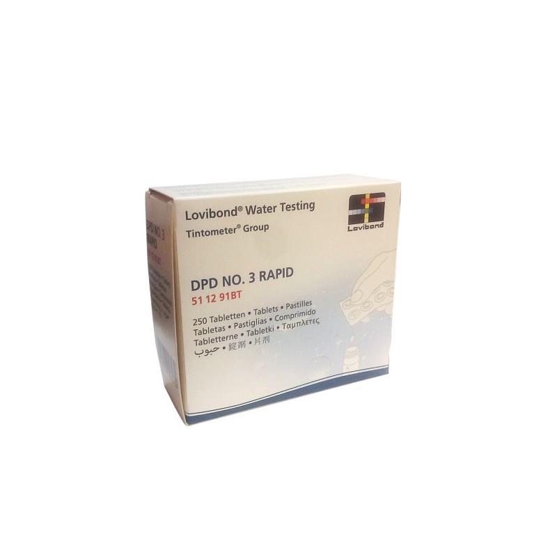 Tabletas Dpd Nº3 250 Und Rapid