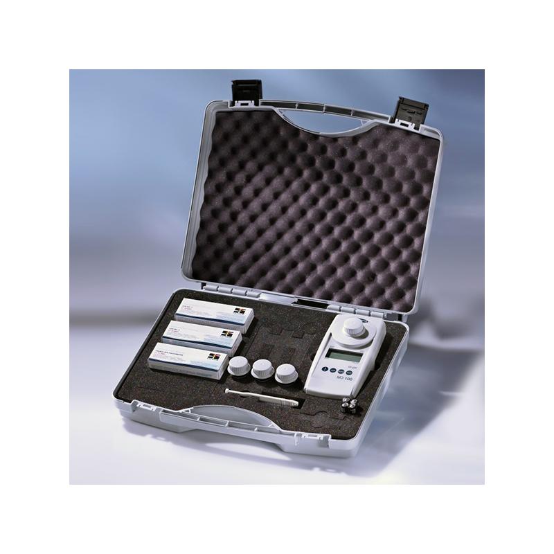 Fotometro Md110 6 In 1 Cl/Br/Ph/Cys/Alk/Dur + Bluetooth