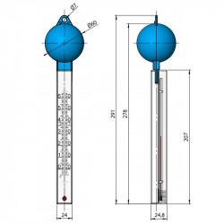 Termómetro Flotante