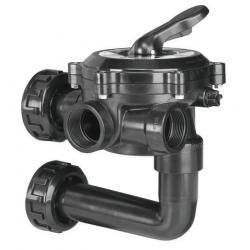 """Válvula selectora Flat 1 1/2"""" lateral con enlace a filtro"""