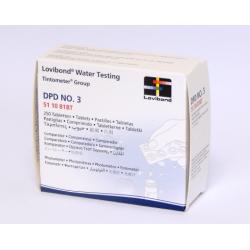 Tabletas Dpd Nº3 100 Und Rapid