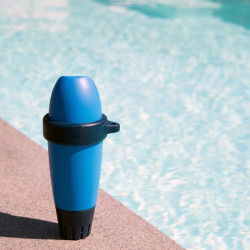 Swimming pool water analyser Blue Connect Salt (gold)