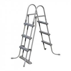 Escalera para piscinas desmontables Bestway 107 cm.