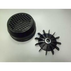 Conjunto Ventilador-Tapa (0,75-1 Cv)