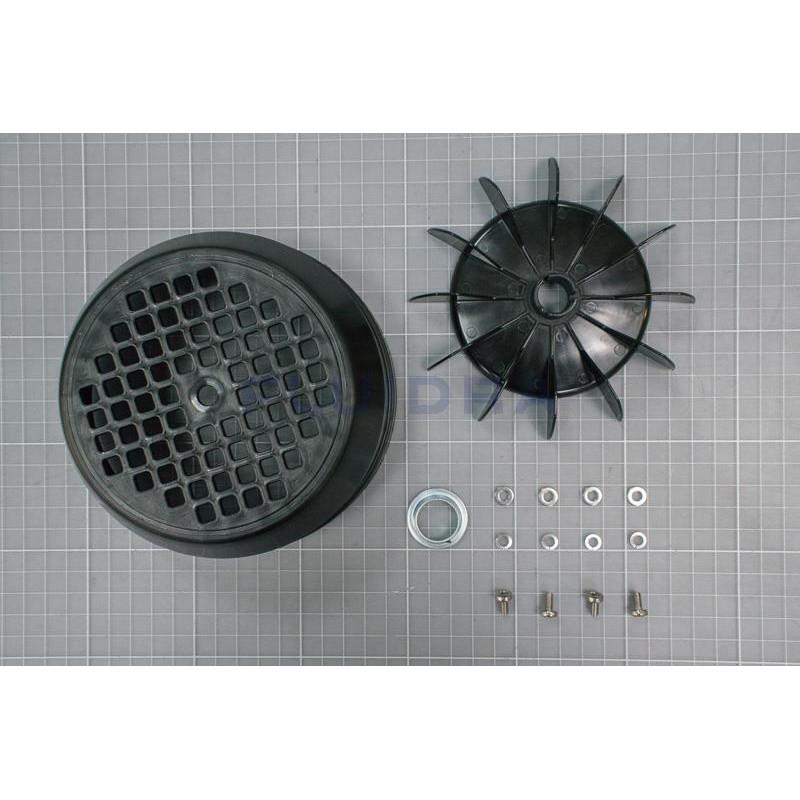 Conjunto ventilador tapa Victoria Plus Silent 0,5 a 1 CV