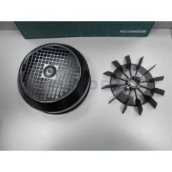 Conjunto Tapa Ventilador 5,5 A 7,5 Hp (D28)