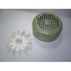 Conjunto Ventilador + Tapa 3-4 Hp