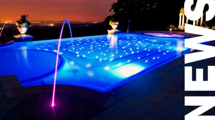 Artículo sobre como iluminar una piscina