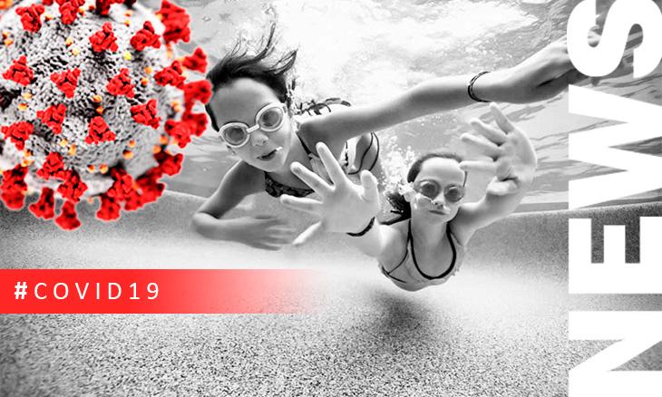 Una piscina tratada correctamente es un lugar seguro ante el COVID19